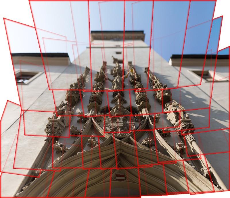 Panoráma pořízené Brenizerovou metodou. Celkem jsem nafotil 35 fotografií objektivem 85/1,8.