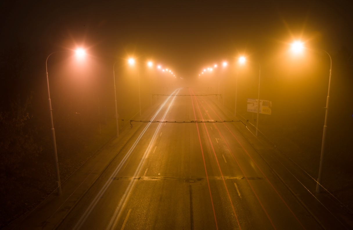 Krytí vrstvy 50 procent není ideální řešení – světla aut budou tlumenější a posléze už nemusí být vidět.