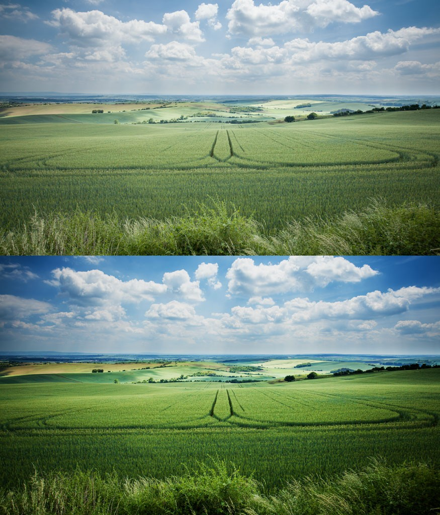 Z původní verze (nahoře) jsme výrazným zvýšením Kontrastu a Živosti získali výraznější obrázek. Canon 5D Mark II, Canon EF 16-35/2.8 II, 1/100 s, f/8.0, ISO 200, ohnisko 19 mm
