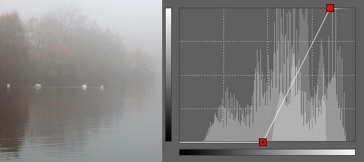 Mlha po úpravě.